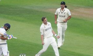 Rohit Sharma and Tim Southee