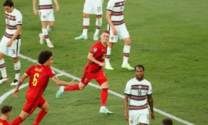 Thorgan Hazard Belgium Euro 2020