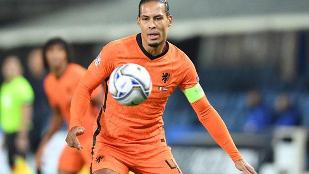 Virgil van Dijk Dutch Euro 2020