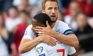 Raheem Sterling and Harry Kane England Euro 2020