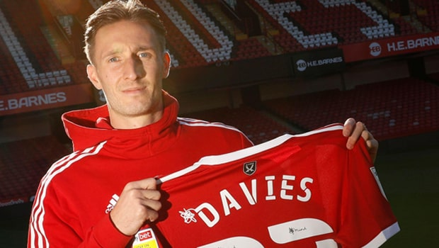 Ben Davies Sheffield United