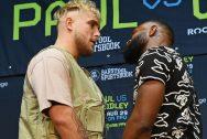 Jake Paul v Tyron Woodley Boxing