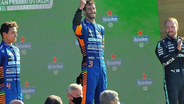 Ricciardo Wins First Race In Three Years
