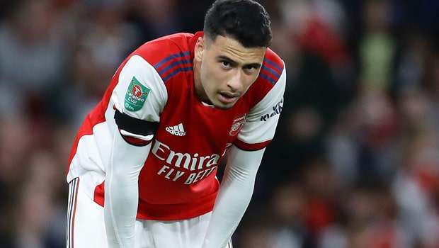 Arsenal not looking to loan Gabriel Martinelli despite the Brazilian not getting enough minutes