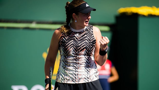 Jelena Ostapenko opened up on her admiration for Serena Williams after progressing through to the semifinals of the Indian Wells