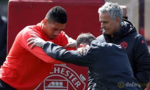 Chris-Smalling-and-Jose-Mourinho-Manchester-United