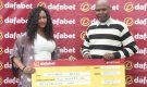 Moses Masinde Ksh. 250,000/- JP Bonus Winner.